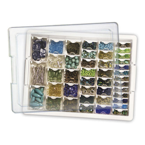 Darice ~ Bead Storage Solutions ~  Assorted Bead Storage Tray