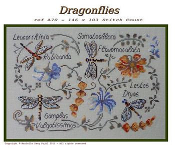 Filigram ~ Dragonflies
