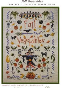 Filigram ~ Fall Vegetables