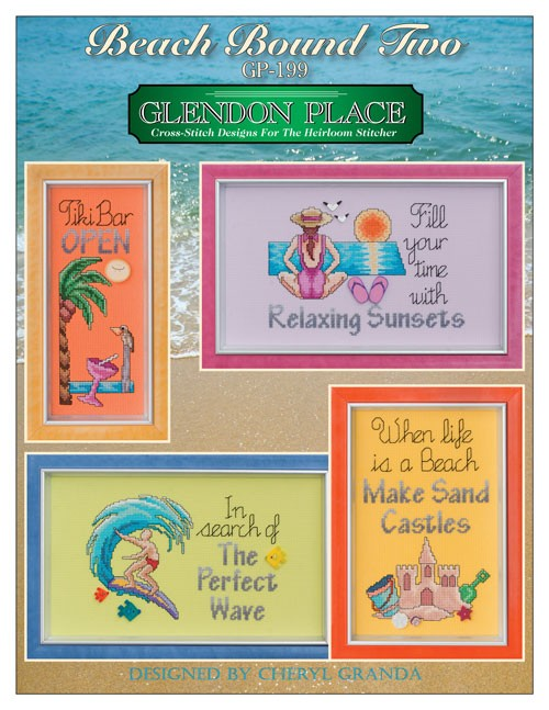 Beach Bound Two  4 Designs ~ Glendon Place