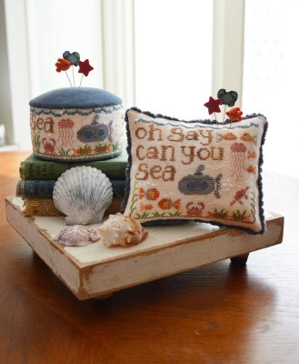 Oh Say Can You Sea - Around the Holidays (1/6) (2 designs) ~ Hands On Design