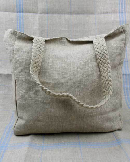 Sajou Linen Tote Bag ~ Needlework Projects ~ SAJOU
