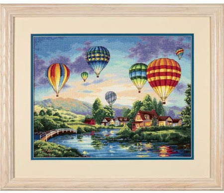 Balloon Glow ~ Dimensions Counted Cross-Stitch Kit