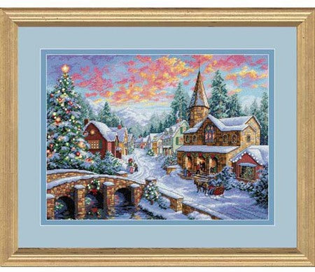 Holiday Village ~ Dimensions Counted Cross-Stitch Kit