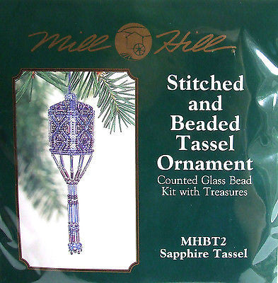 Sapphire Tassel Ornament - Mill Hill Kit MHBT2