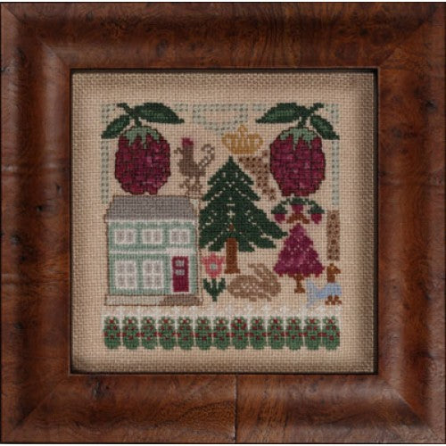 Fruitful X ~ Raspberries ~  Kit #122 ~  The Hearts's Content, Inc