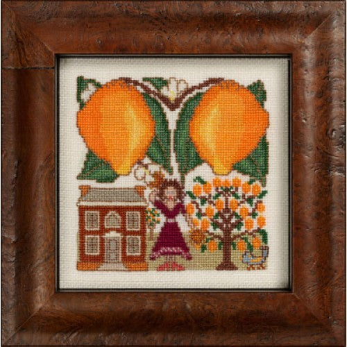 Fruitful XVII ~ Tangerines & Tambourines ~  Kit #161 ~ The Hearts's Content, Inc