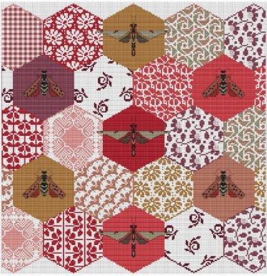 The Quilted Bees ~ Long Dog Samplers