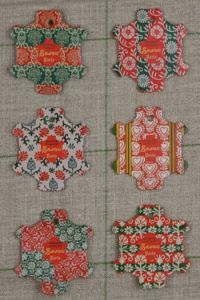 Bayeux Thread Cards - Vintage Wallpaper ~ SAJOU