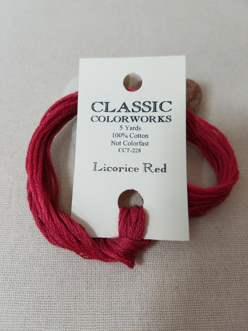 ~ Licorice Red ~ Classic ~ 1310