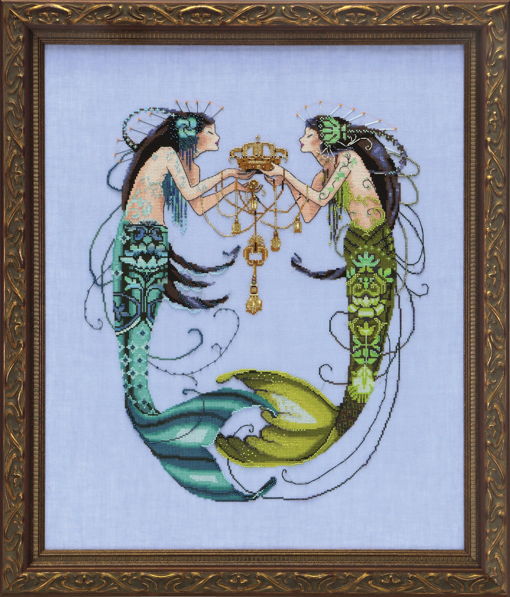 ~ MD141 ~ The Twin Mermaids ~ Mirabilia