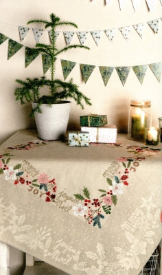 Merry Christmas ~ Tablecloths ~ Rico Designs