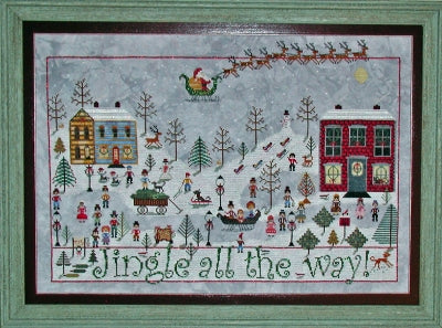 Jingle All The Way ~ Praiseworthy Stitches