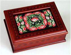 "Sudberry House ~ Parquet Jewelry Box 3.25"" X 5.25"""