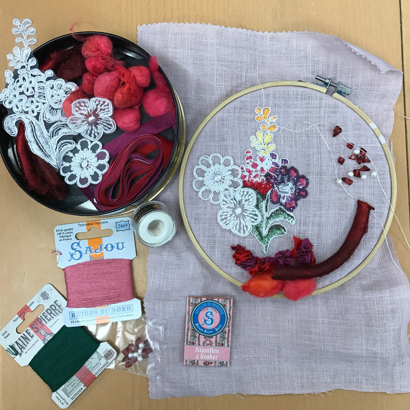 Inspiration Kits ~ Needlework Projects ~ SAJOU