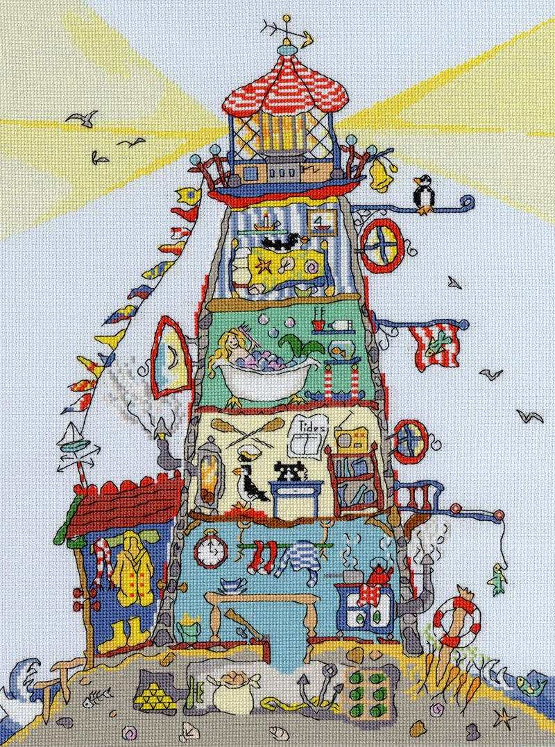 The Lighthouse - Amanda Loverseed - Cut Thru'~ Bothy Threads
