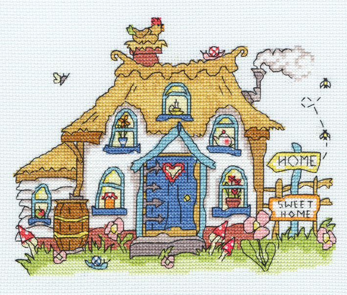 Cottage - Amanda Loverseed - Sew Dinky  ~ Bothy Threads