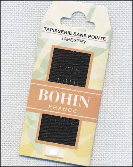 BOHIN TAPESTRY NEEDLES, SIZES 18,20,22