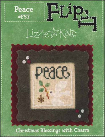 Flip It Christmas Blessings: Peace ~ Lizzie Kate
