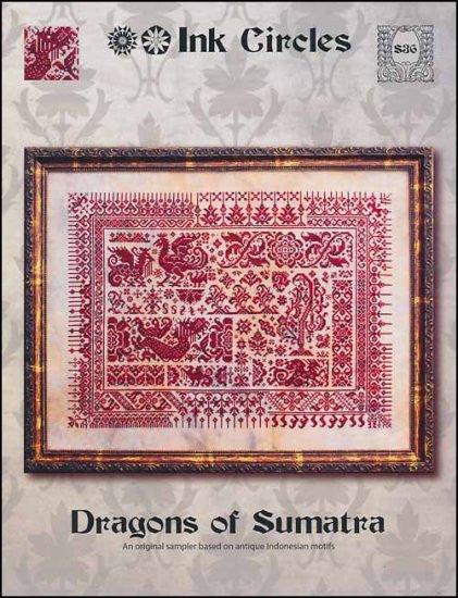 Dragons Of Sumatra ~ Ink Circles