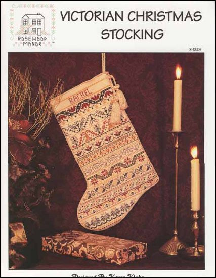 Victorian Christmas Stocking ~ Rosewood Manor