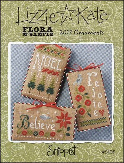 Snippet: Flora Mcsample 2012 Ornaments
