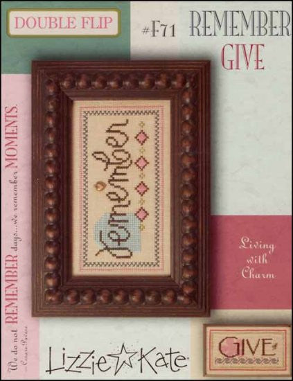Double Flip: Remember /  Give ~ Lizzie Kate