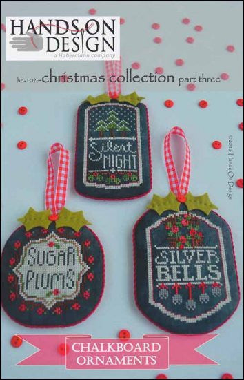 Chalkboard Ornaments: Christmas Collection Part 3 ~  Hands On Design