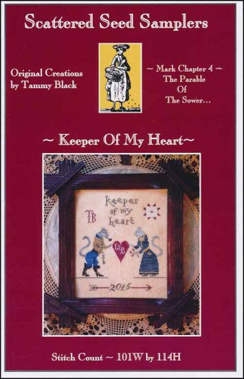 Keeper Of My Heart ~ Scattered Seed Samplers