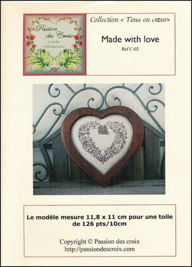 MADE WITH LOVE ~ Passion Des Croix