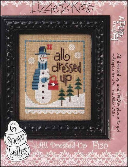 Six Snow Belles Flip It: All Dressed Up