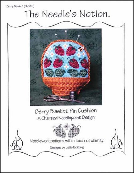 Berry Basket Pin Cushion