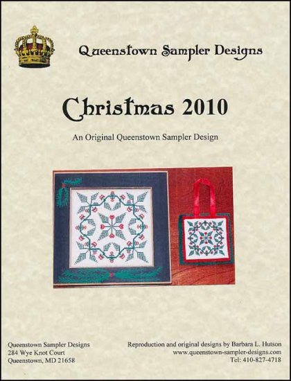 Christmas 2010 ~ Queenstown Sampler Designs