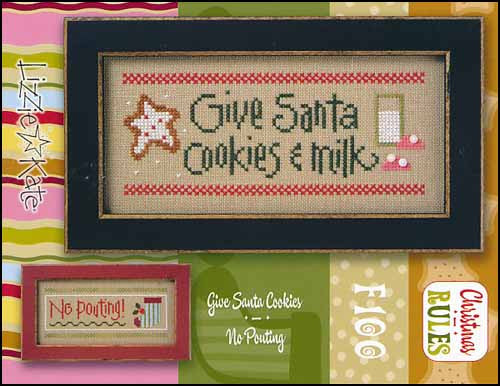 Christmas Rules Double Flip: Give Santa Cookies / No Pouting~ Lizzie Kate