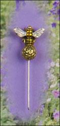 Sparkle Bee ~ Just Nan  CharmGarden Pins