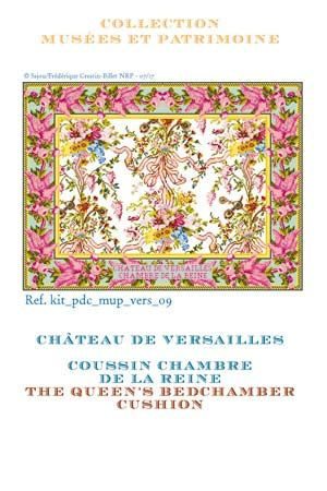 CROSS STITCH KIT: THE QUEEN'S BEDCHAMBER CUSHION ~ SAJOU