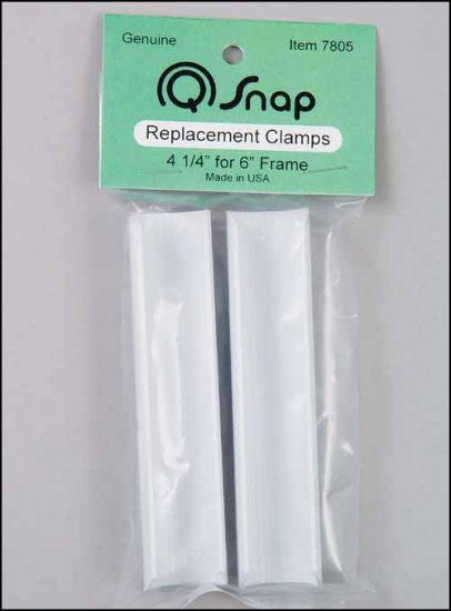 "Q SNAPS. 4 1/4"" CLAMPS PAIR FOR 6"" FRAME"