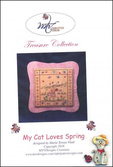 My Cat Loves Spring ~ MTV Designs