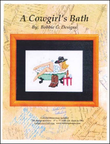 A Cowgirl's Bath