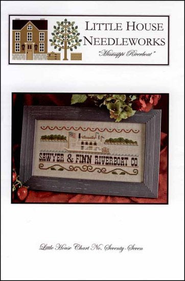 Mississippi Riverboat ~ Little House Needleworks