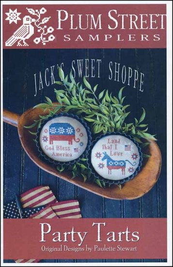 Jack's Sweet Shoppe: Party Tarts ~ Plum Street Samplers
