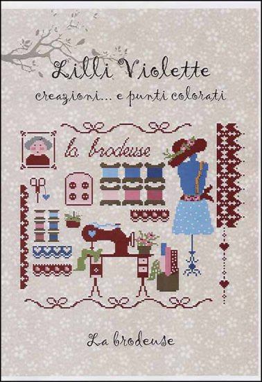 La Brodeuse (the Embroidery) ~ Lilli Violette
