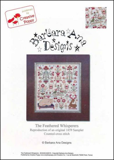 The Feathered Whisperers ~ Barbara Ana Designs