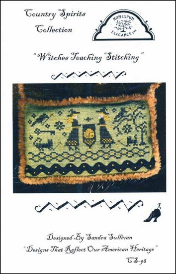 Witches Teaching Stitching ~ Homespun Elegance Ltd