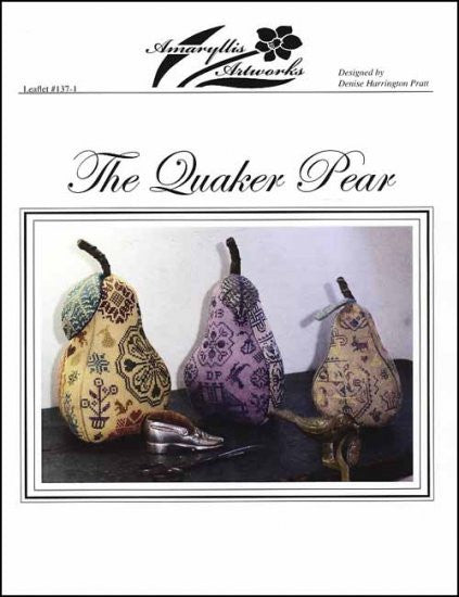 QUAKER PEAR ~ Amaryllis Artworks