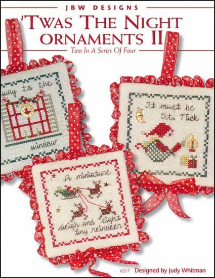 Twas The Night Ornaments 2
