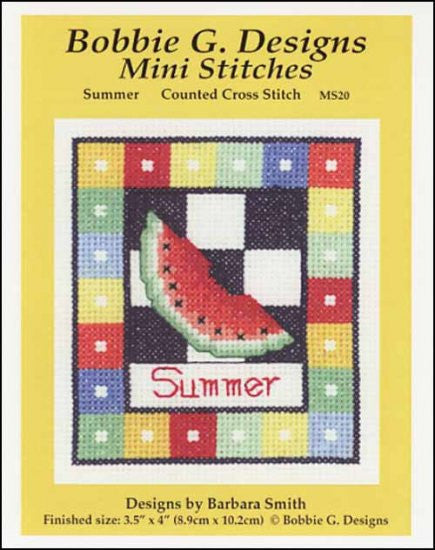 Mini Stitches: Summer