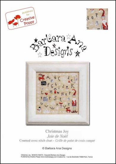 Christmas Joy ~ Barbara Ana Designs