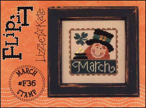Flip It Stamp: March ~ Lizzie Kate