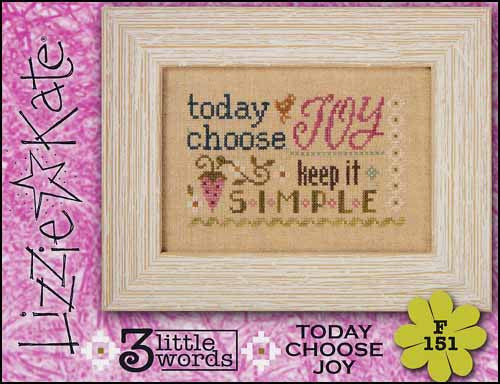 Three Little Words Flip It: Today Choose Joy